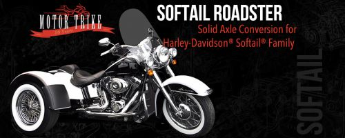 Harley Davidson Softail Roadster Trike Conversion