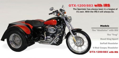 Harley Davidson GTX1200/883 with IRS - $24,210 Base Price Ride Away