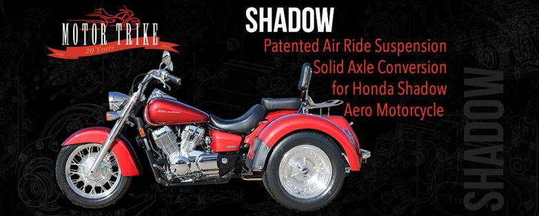 Honda Shadow VT750 Trike Conversion