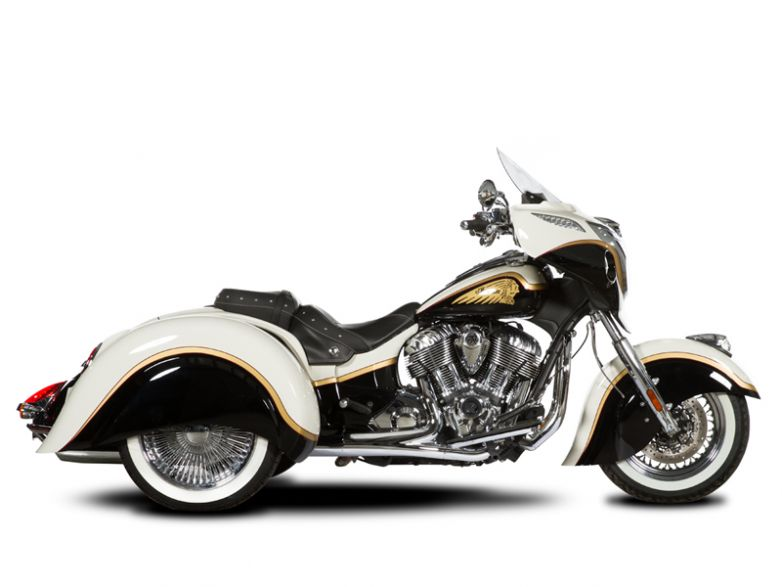 Hannigan Indian Chief Trike $26,020 Base Price Ride Away