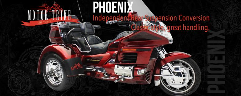 Phoenix Honda GL 1500 Gold Wing Motorcycle Trike Conversion