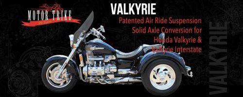 Honda Valkyrie & Valkyrie Interstate Motorcycle Trike Conversion